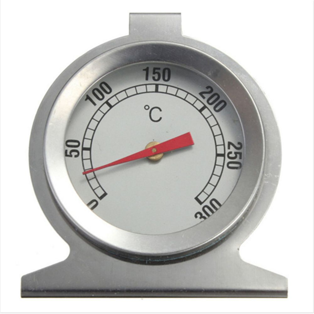2020 NEW 1PC Stainless Steel Oven Thermometer Kitchen Cooking Meat Temperature Measuring Tools