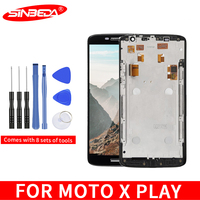 Sinbeda 5.5 for Motorola X play LCD Display Touch Screen Digitizer Assembly for MOTO X play XT1561 XT1562 XT1563