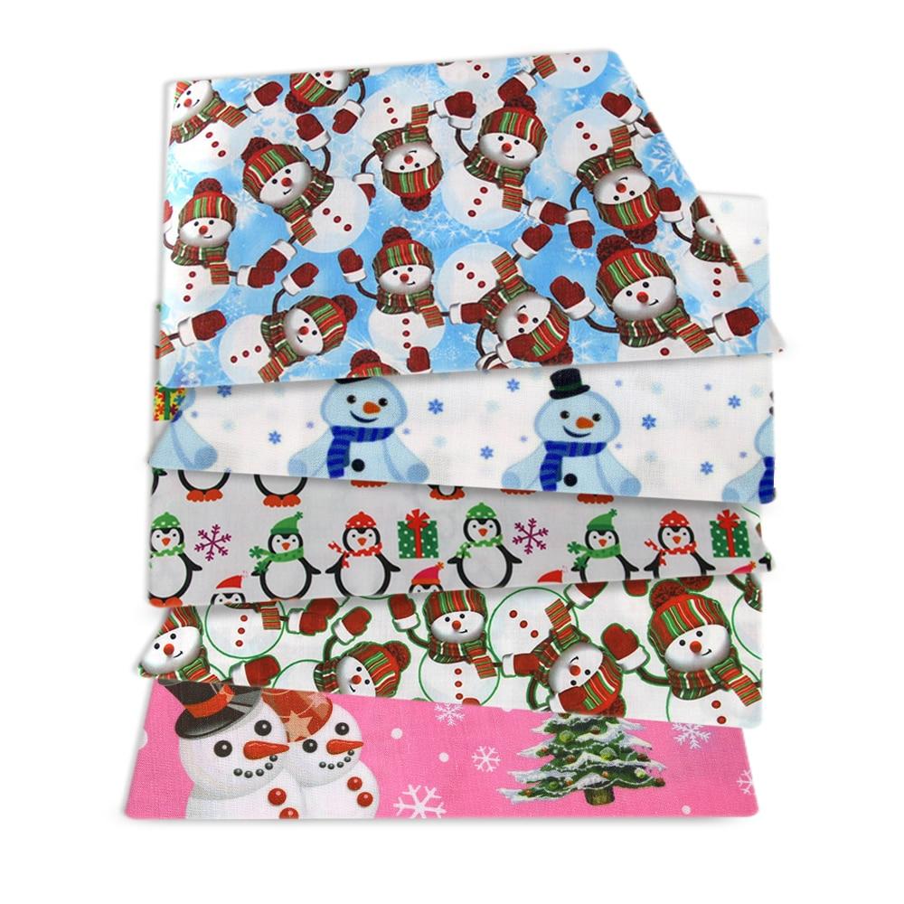 HOHOHO candy cane Christmas fabric 3 x 25 cm x110 cm Cloth package patchwork fabric