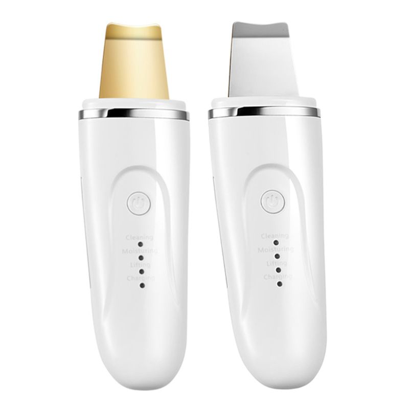 Facial Skin Scrubber Spatula Electric USB Charging Portable Beauty Instrument