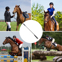 Using A Whip Or Crop While Horseback Ridding Whip
