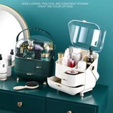 Makeup organizer Waterproof Cosmetic case Makeup Jewelry Box Multifunctional Travel Cosmetic Organizer Drawer Home Storage Boxs