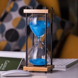 Klepsydry przezroczyste szkło piasku klepsydra kreatywne klepsydra timer zegar odliczania, walentynki prezenty wystrój domu
