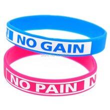 300 шт., черный, синий, розовый, без боли, без усиления, Мотивационный браслет, силиконовые браслеты, компанией dhl A