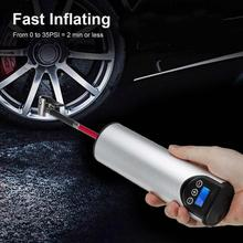 12V 150PSI Air Compressor Electric Air pump with Tire Pressure LCD Display Wireless Portable Tire Inflator for Car Bicycles