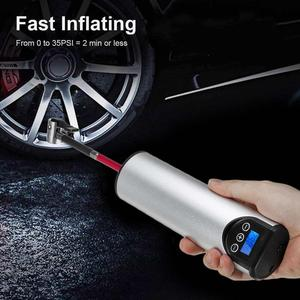 Image 1 - Pompe à Air électrique sans fil pour pneus, système de gonflage de roues avec écran LCD, pour voiture, vélo, 12V, 150psi