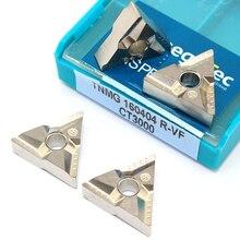 TNMG 160404 R VF CT3000 Cermet شفرة كربيد الخارجية تحول أداة TNMG 160404 Cnc أدوات القطع آلة خرط تعمل بالتحكم الرقمي بواسطة الحاسوب أدوات تقطيع