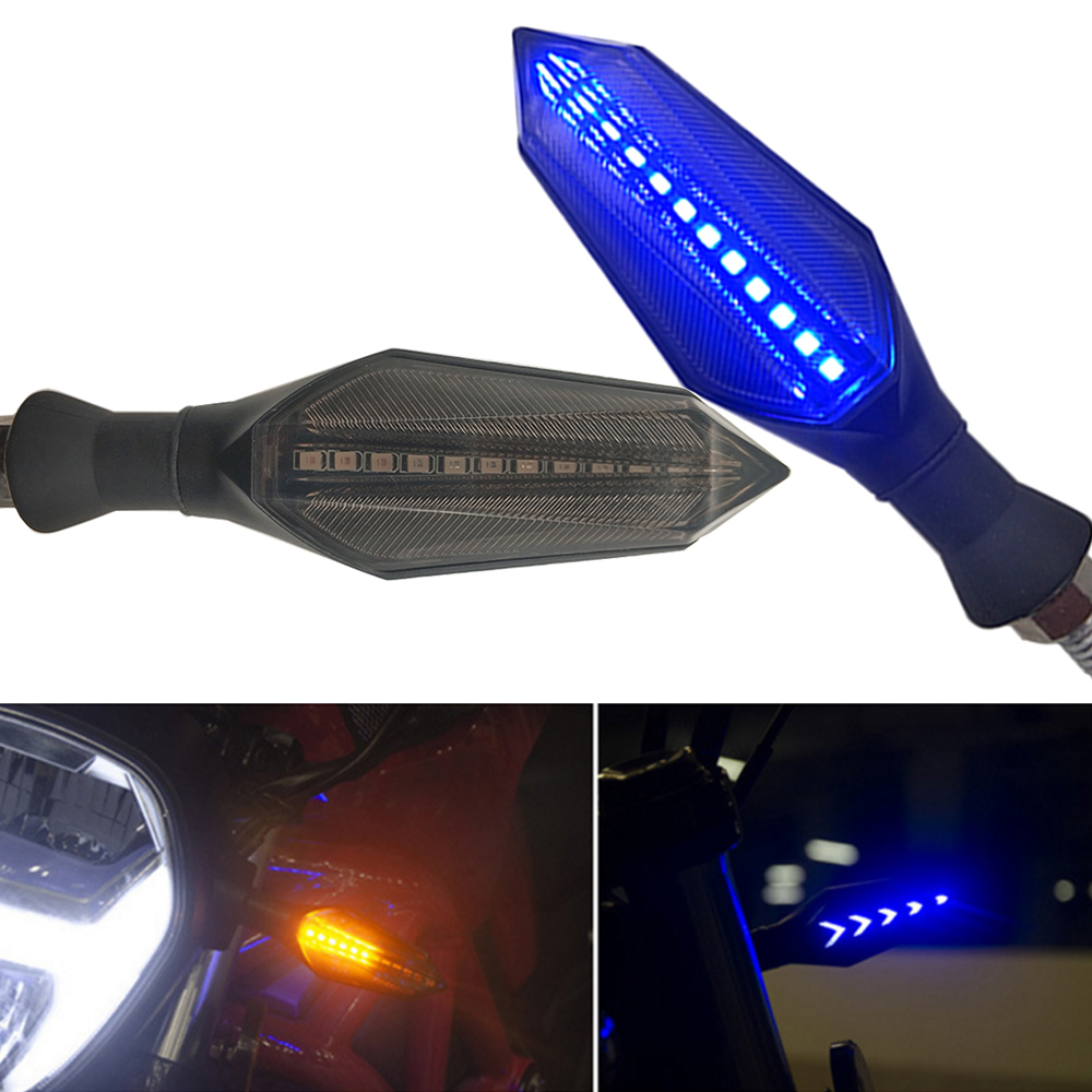 For Yamaha TDM 900 YBR 125 YZF R15 XT660 Xt 660 MT125 Motorcycles Turn Signals Light Led Flasher Warning Lamp Auto Accessorie
