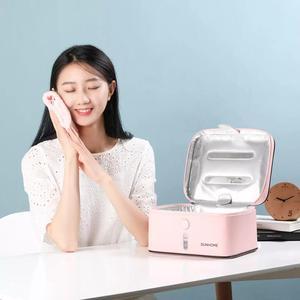 Image 3 - Xiaomi mijia dunhome tanque desinfetante, 8w, viagem ao ar livre, led, luz ultravioleta, esterilizador, caixa, bolsa de armazenamento, estojo
