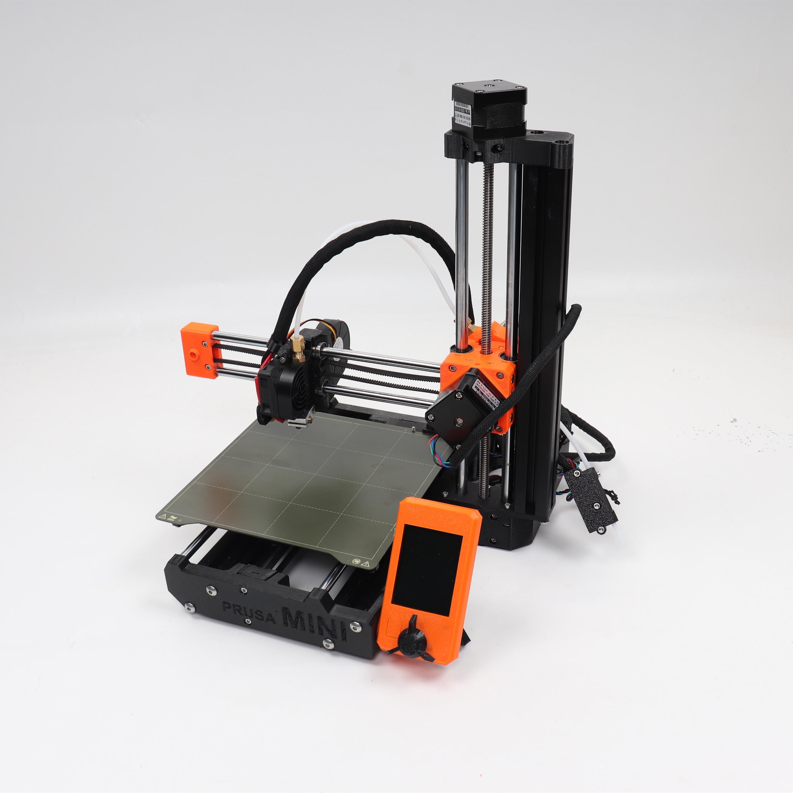 Prusa Mini 3d Printer Diy Penuh Kit Termasuk Meanswell PSU Sunon Kipas Angin filamen Sensor Memesan (Tidak Dirakit)