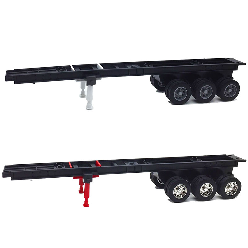 35cm1:32 Scale Truck Model Modification Accessories Trailer Car Vehicle Traffic Tools Display Show Plastic Toys F Fans Gifts