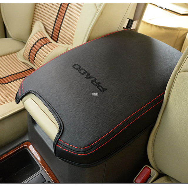 1PCS Armrest Box Cover for Toyota Land Cruiser Prado 120 2003 2004 2005 2006 2007 2008 2009 Accessories