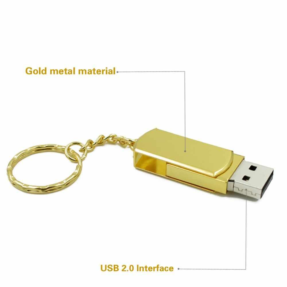 Wodoodporna super mini metalowa pamięć usb flash 32GB pamięć usb 2.0 4GB 8GB 16GB sterownik pióra 64GB 128GB pamięć flash pendrive pamięć usb