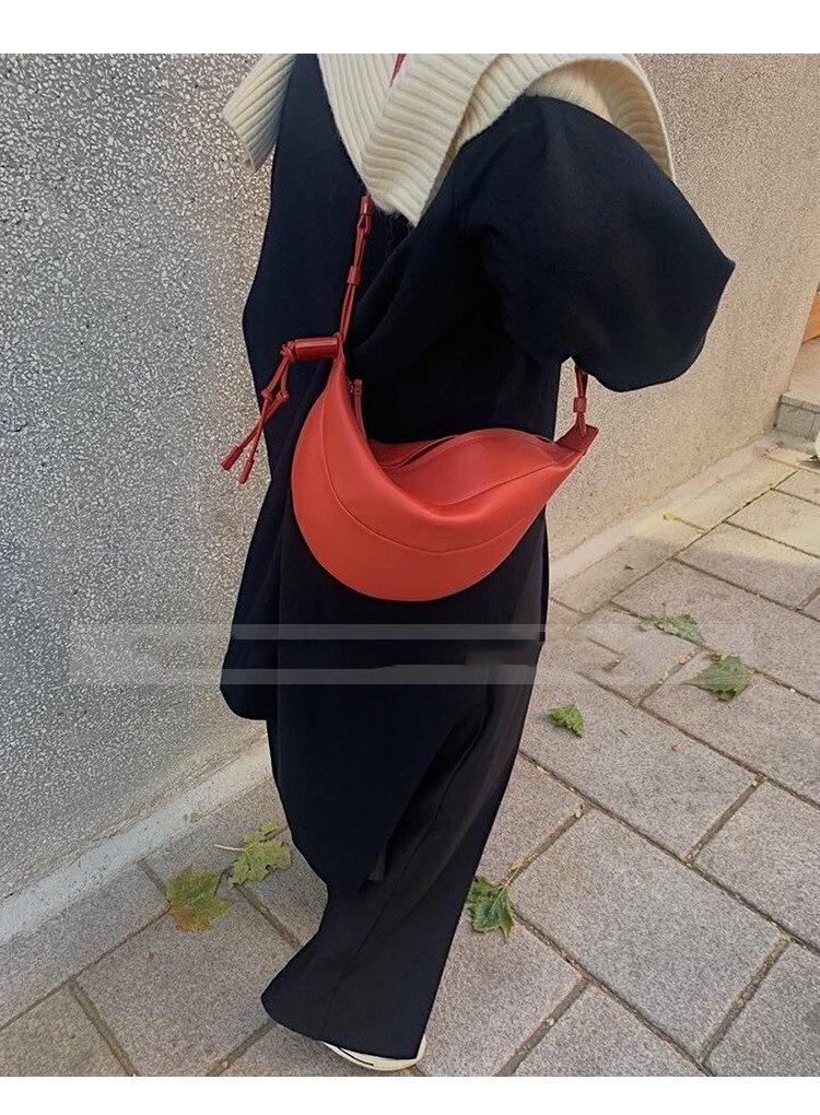 bolsas e bolsa feminina shopper forma crescente mini carteira