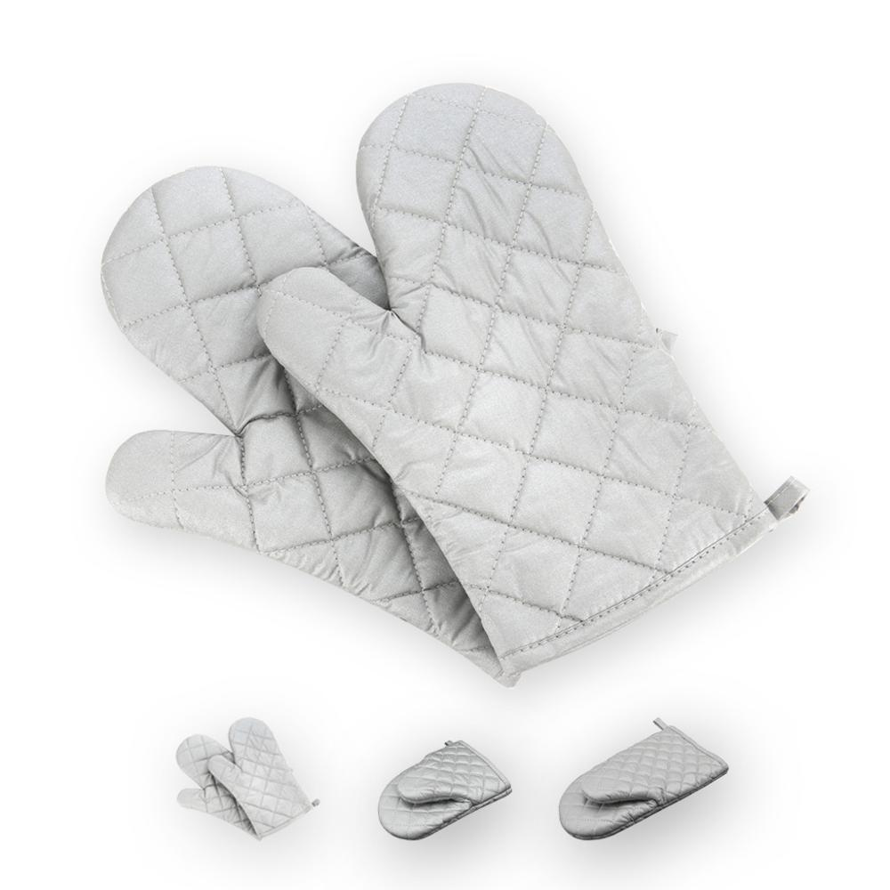 Cotton Coated Microwave Oven Gloves Insulated Oven Gloves Anti-hot Gloves