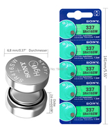 20Pcs/Lot For Sony New LONG LASTING 337 SR416SW 623 D337 V337 SP337 Watch Battery Button Coin Cell For Watch Car Remotes 2