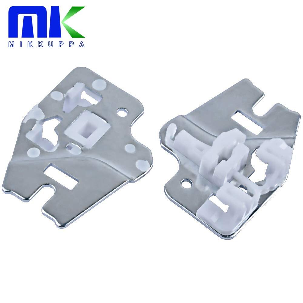 Mikkuppa para bmw e46 janela regulador kit de reparo frente esquerda 51337020659 driver metal 1998 1999 2000 2001 2002 2003 2004 2005