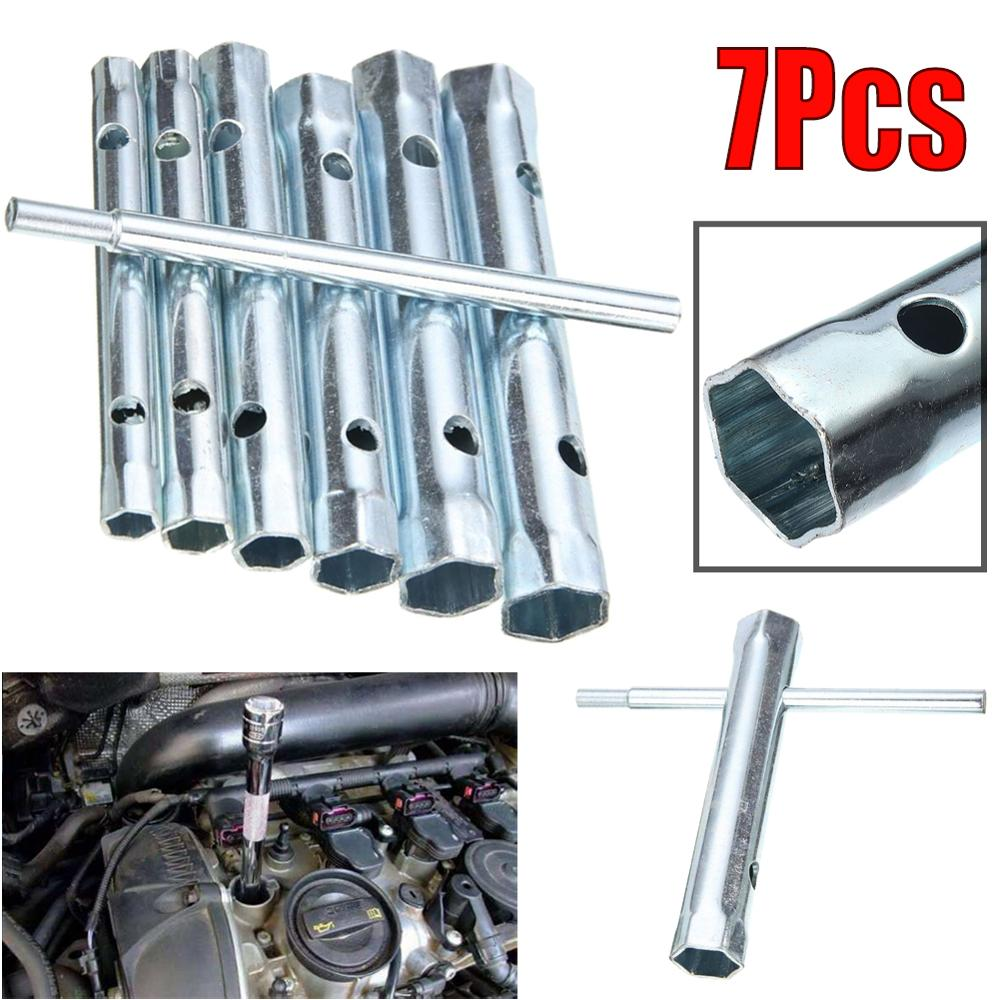 Top Quality Steel 6-17mm Tubular Box Wrench Socket Set Double End Spark Plug Spanner Removal Tool Wholesale Quick Delivery CSV