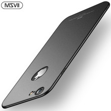 Msvii Coque voor iPhone 6 6 S Case Ultra Slim Case voor iPhone 6 S 6 S Plus Case Luxe 360 Volledige Bescherming PC Hard Cover(China)