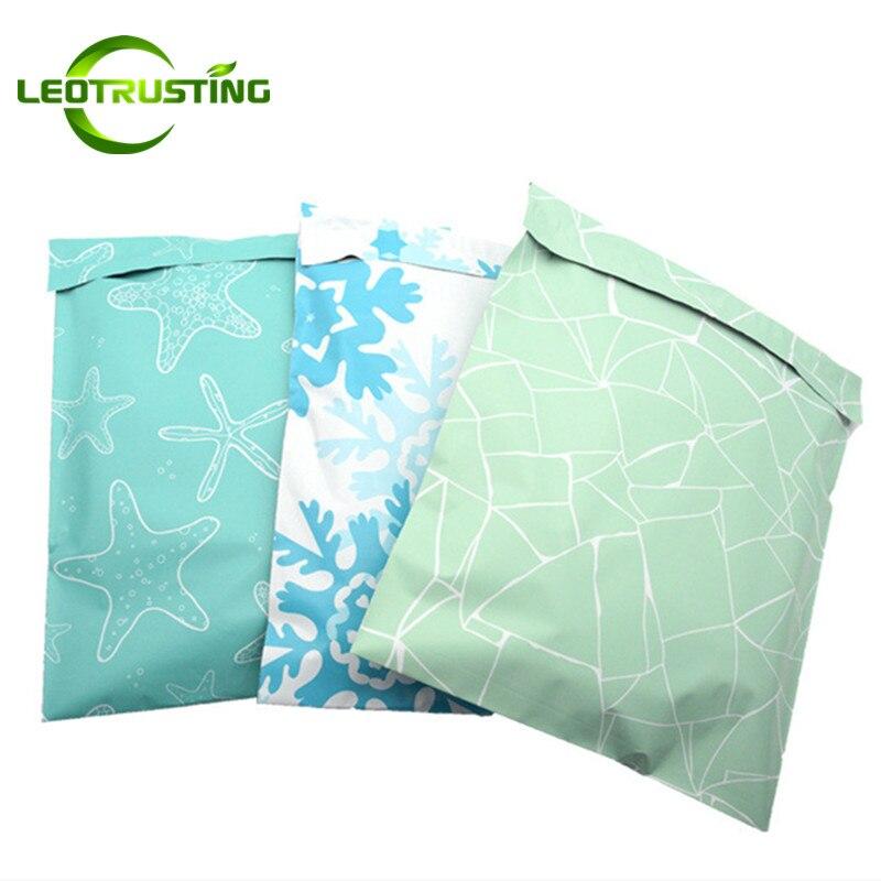 Leotrust Фламинго Stars, полиэтиленовые клейкие конверты, курьерские пакеты, пластиковые рождественские подарки, почтовые коробки для игрушек, уп...