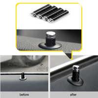 Tornillo de fibra de carbono Bloqueo de puerta TAPA DE Pin para Mercedes Benz W212 W205 W204 CLA GLA AMG C E CLS GLK CLK accesorios interiores de coche
