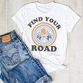 Женская футболка с принтом Wander Vacay, модная летняя футболка для путешествий, женская футболка с графическим принтом