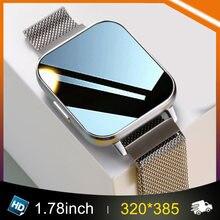 Neue D-TX Ekg Smart Uhr Männer Frauen IP68 Wasserdichte 320*385 1.78