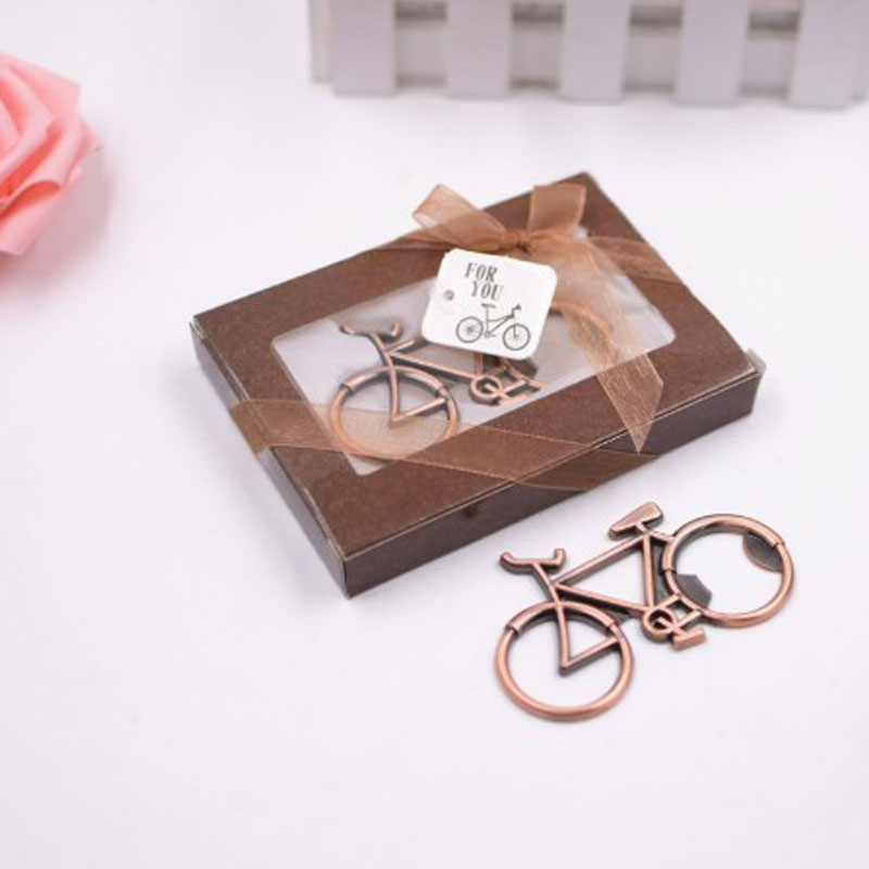 Fashionable Bike Bicycle Metal Beer Bottle Opener Home Party Beer Opener Tool Creative Gift 20pcs/lot