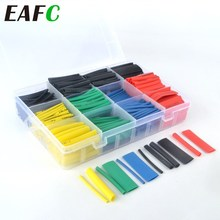 Electrical-Cable-Tube-Kits Wire-Connector Tubing-Wrap-Sleeve Heat-Shrink-Tube Assorted