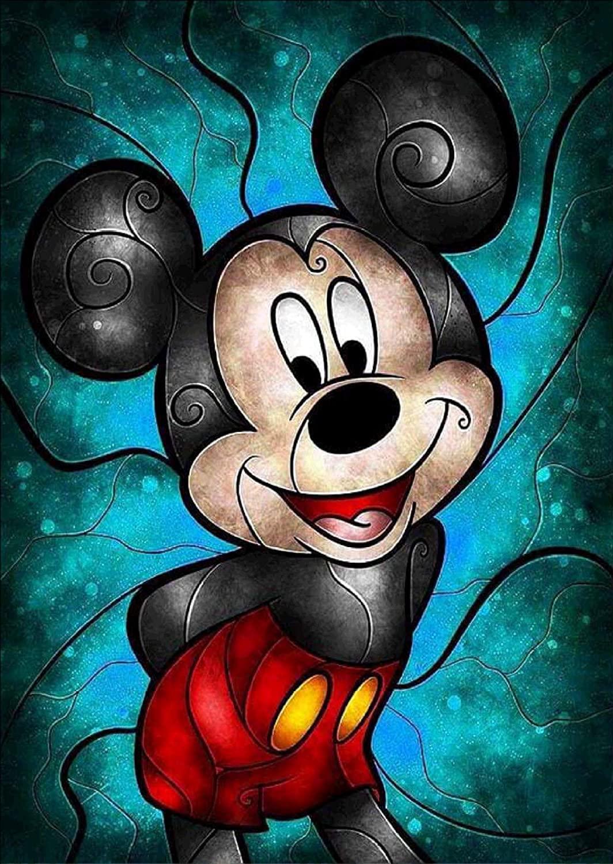 Алмазная живопись Disney 5D «сделай сам», паста для вышивки крестиком, мозаика из страз, узор, декоративная живопись для дома