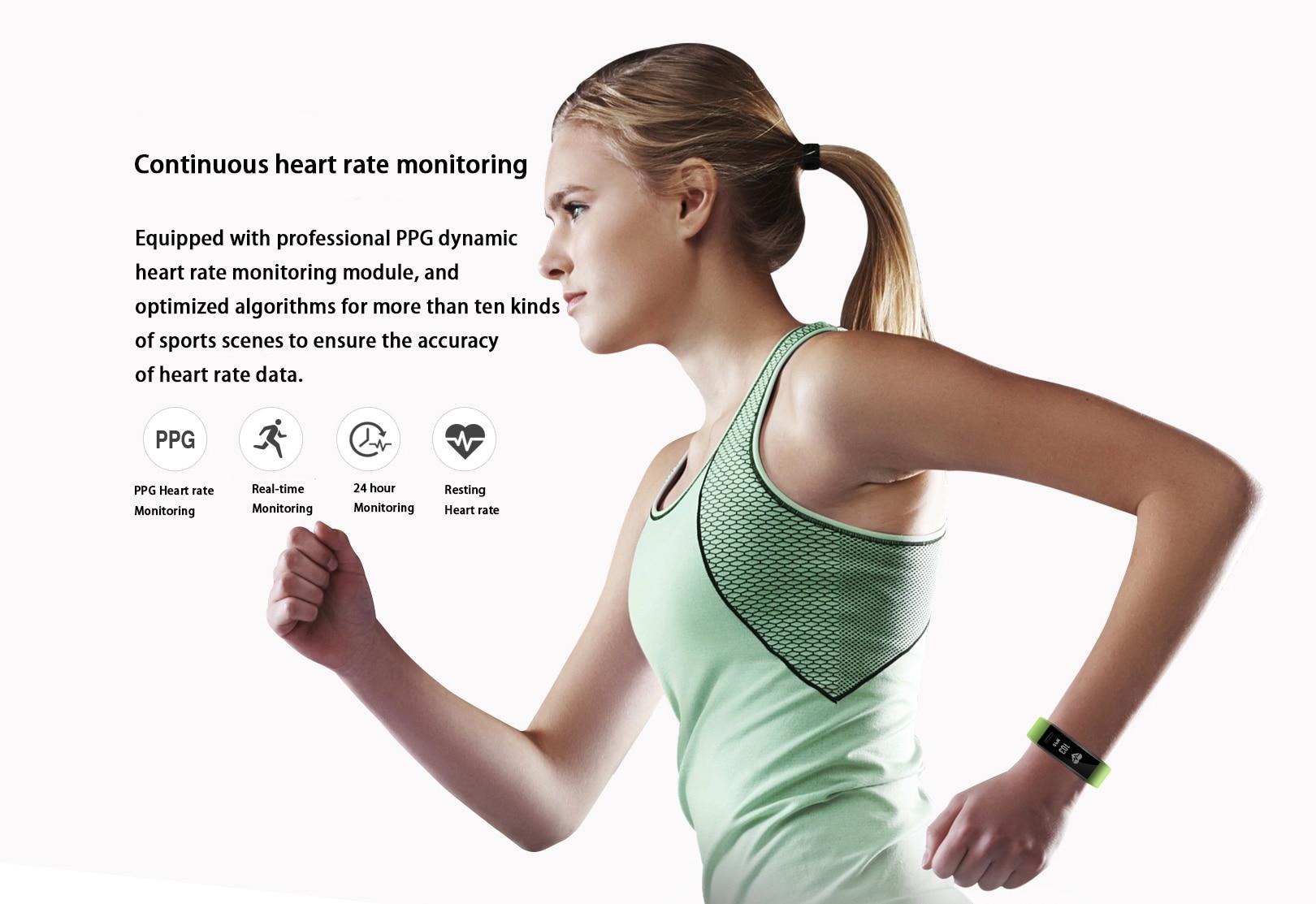 Rastreador de Fitness Inteligente Pulseira Multi-Modo Esporte