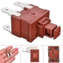1 個の電源スイッチプッシュボタン KAN L5 スイッチ 7.5A 250V AC 4 ピン T120 水ヒーター真空クリーナー特別ロック自己ロック