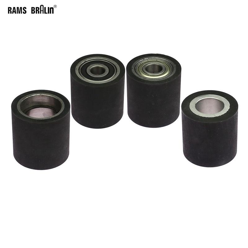 1 Piece 50*50mm  Solid Rubber Contact Wheel Belt Grinder Part