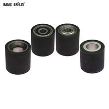 1 piece 50*50mm  Solid Rubber Contact Wheel Belt Grinder Part