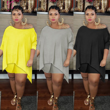 Tracksuits Short Plus-Size Women And Summer Outfits Tops Two-Pieces-Set High-Street Casual