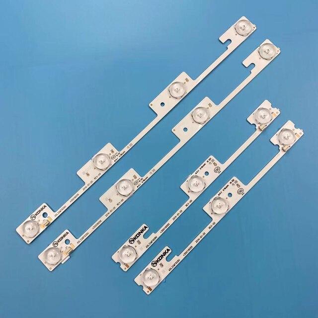 """KIT (4pcs) 32"""" TV LED Strip For konka 32L2400 KDL32MT626U 35019055 35019056"""