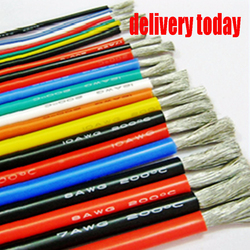 4 6 7 8 10 11 12 13 14 15 16 17 18 20 22 24 26 28 30 AWG Silicone Wire Ultra Flexiable Test Line Cable High Temperature