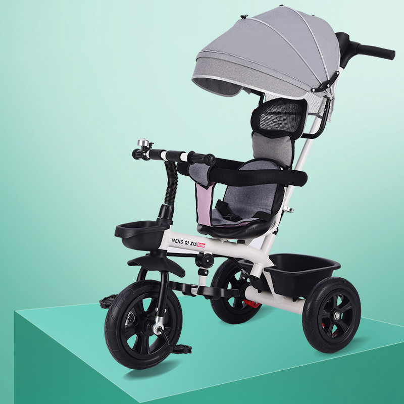 2 In 1 Baby Stroller Children's Tricycle Bicycle 1-6Y Stroller Umbrella Car For Kids  Child Tricycle Stroller  Baby Bike