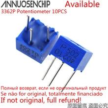 Trimmer Potentiometer 100K 50K 20K 3362p-Series Resistance 103 1K 102 502 10pcs 500R