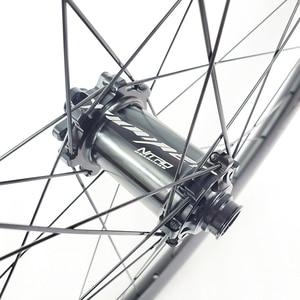 Image 4 - 1300g carbon BOOST tubeless wheels 29er MTB XC 34mm straight pull wheelset 30mm depth Yuniper 110mm 148mm Shim 10S 11S XD XX1