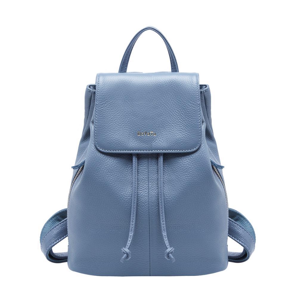 11.11 Hot Small Genuine Leather Backpack Women Fashion Shoulder Bag For Girl Elegant Travel Shoulder Bag Rucksack