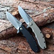 Tactical Folding Knife Blade Multifunction-Tool Hunting Outdoor Zero Tolerance G10handle