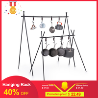 Naturehike ChenYi Aluminum Alloy Hanging Rack Outdoor Camping 8kg Bearing Weight Triangular Rack Clothes Storage Rack