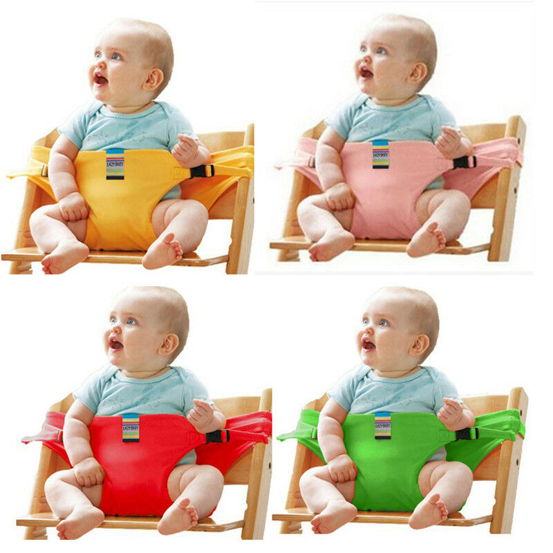 Portable Baby Boys Girls High Chair Booster Safety Seat Strap Harness Dining SeatBelt