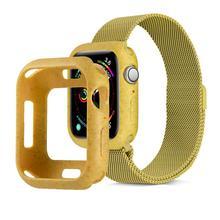 Рамка Защитный чехол для apple watch 5 4 44/40 мм чехол-бампер из ТПУ противоударный чехол s для наручных часов iwatch, версия 1, 2, 3, ремешок серии 42/38 мм аксессуары