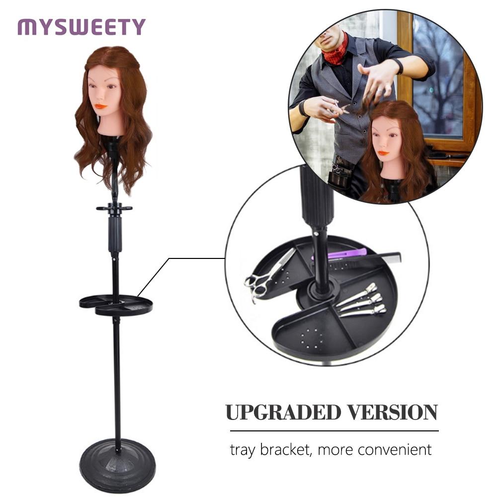 Head Mold Tray Bracket Hair Doll Head Training Head Hair Tripod Dummy Head Model Head Bracket