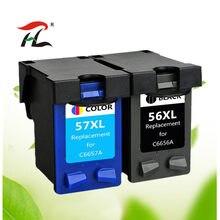 56XL 57XL чернильный картридж для hp 56 57 для hp56 hp57 с чернилами hp Deskjet 450 450cbi 450ci 450wbt F4140 F4180 5150 5550 принтер