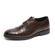 Men Shoes Oxfords Offical Business Wedding-Party Formal
