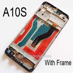 Image 5 - Samsung A10S LCD ekran A107F A107F/DS ile çerçeve ile dokunmatik meclisi yedek onarım parçaları