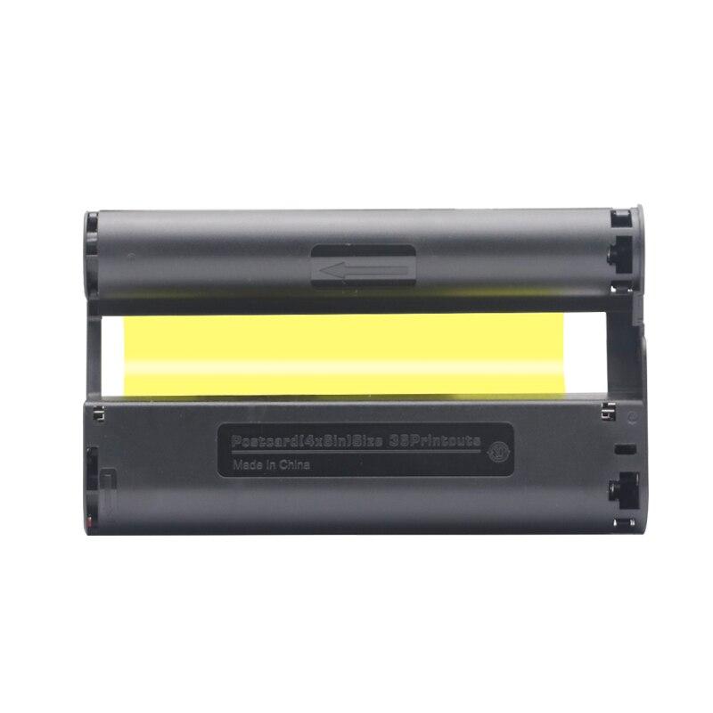 Цветные чернильные картриджи лента 6 дюймов Совместимость для Canon Selphy CP серии CP800 CP810 CP820 CP900 CP910 CP1200 CP1300 CP1000 фотофоны 6 дюймов бумага